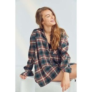 UO BDG Cozy Oversized Flannel